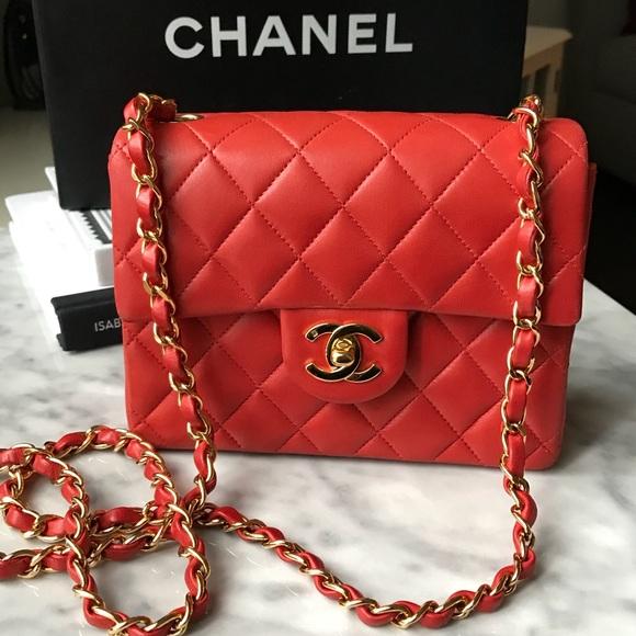 780debb7d952 CHANEL Handbags - 🛑FINAL REDUCTION🛑 CHANEL Vintage Square Mini